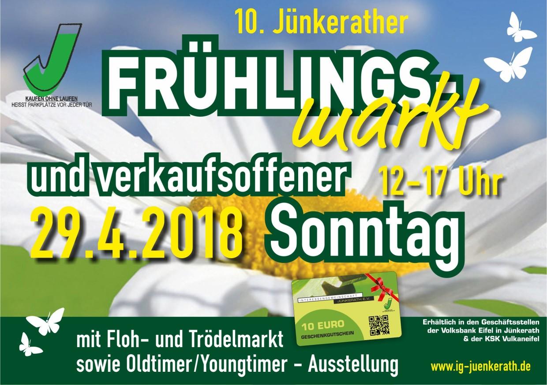 Frühlingsmarkt Jünkerath 2018